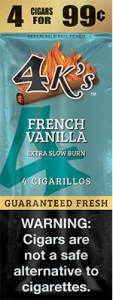 4k Extra Slow Burn Cigarillo French Vanilla