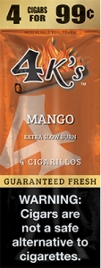 4k Extra Slow Burn Cigarillo Mango