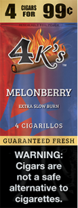 4k Extra Slow Burn Cigarillo Melonberry
