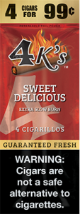 4k Extra Slow Burn Cigarillo Sweet Delicious