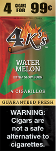 4k Extra Slow Burn Cigarillo Watermelon