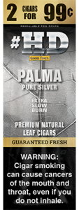 #HD Palma Pure Silver Premium Natural Leaf Cigars