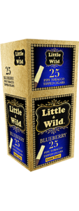 Little and Wild 25 Count Blueberry Pipe Tobacco Tipped Cigar