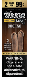 Sweet Woods Natural Leaf Rustic Cigar Cognac 2 for 99