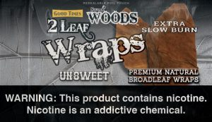 Sweet Woods Leaf Unsweet Leaf Wrap
