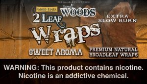 Sweet Woods Leaf Sweet Aroma Leaf Wrap