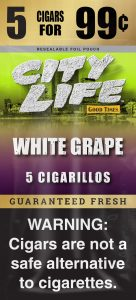Good Times City Life White Grape Pouch