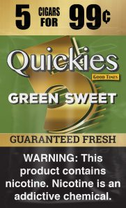 GT Green Sweet Pouch Quickies