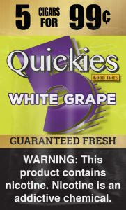 Good Times Quickies White Grape Pouch