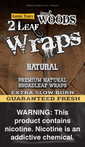 GT Sweet Woods Leaf Wrap Pouch Natural