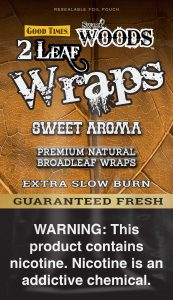 GT Sweet Woods Leaf Wrap Pouch Sweet