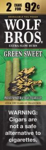 Good Times Wolf Bros 2F99 Pouch Green Sweet